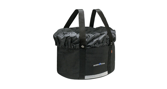 KlickFix Shopper Plus Cykeltaske sort